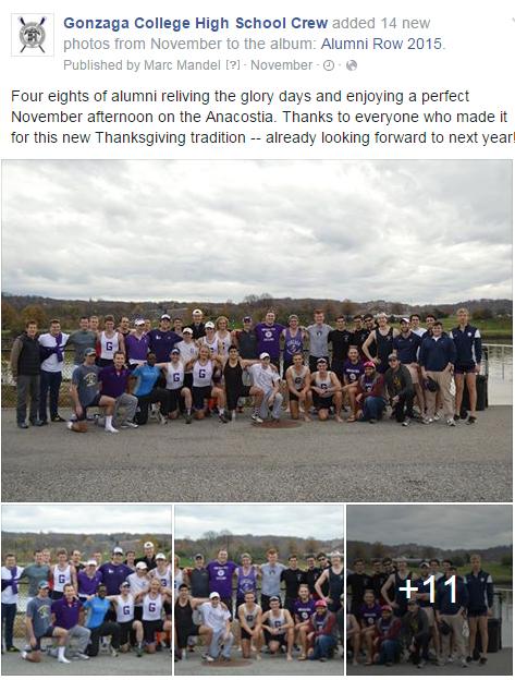 Alumni Row 2015