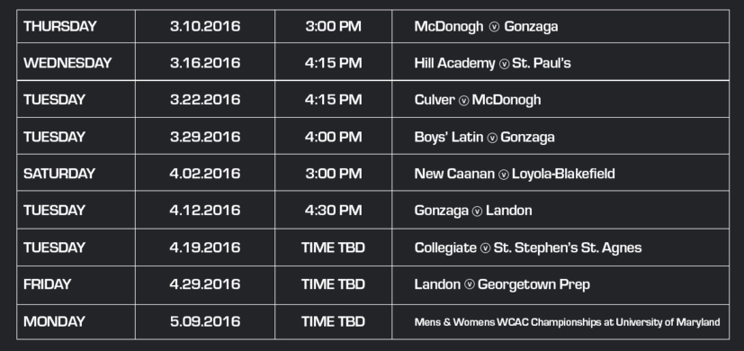laxsports network schedule