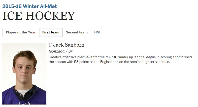 hockey - sanborn