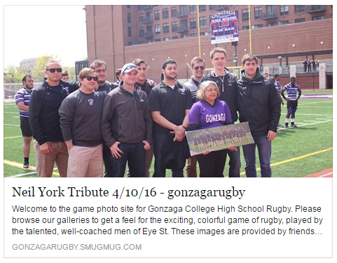 rugby - york tribute