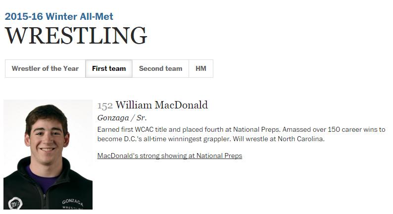 wrestling - macdonald