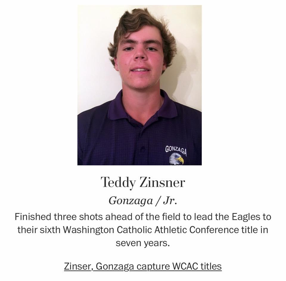 Golf - Zinsner '16