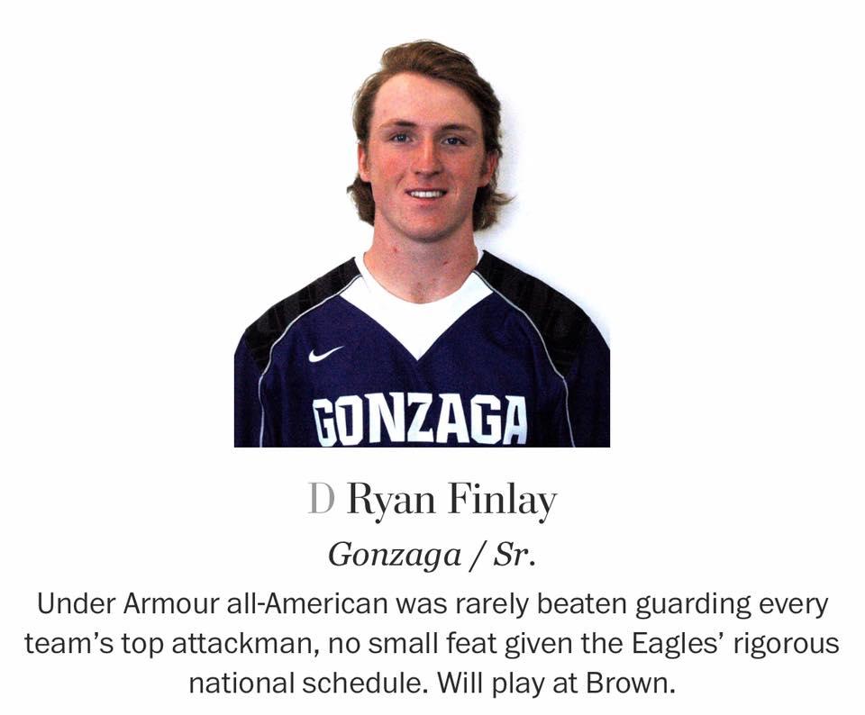 Lacrosse - Finlay '16