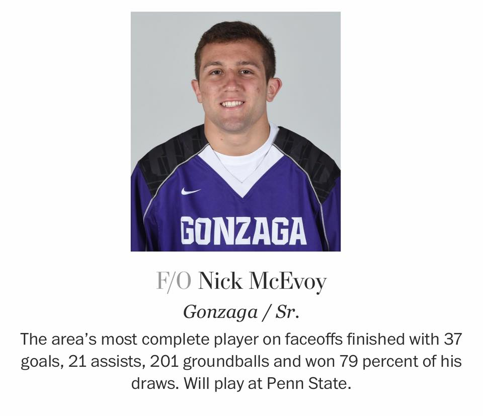 Lacrosse - McEvoy '16