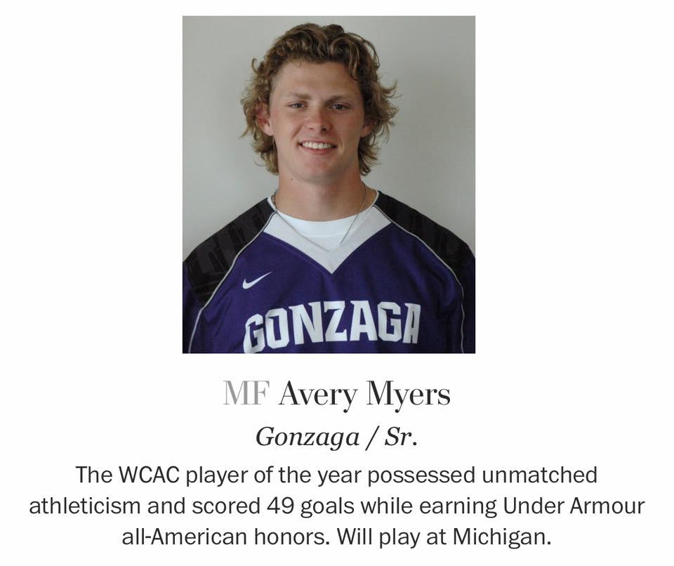 Lacrosse - Myers '16