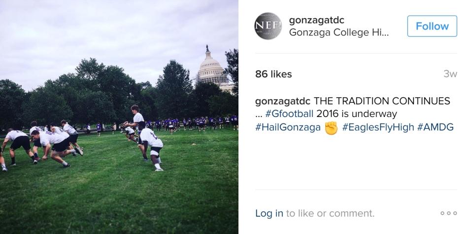 CAPITOL PRACTICE (2016) via @GonzagaTDC on IG
