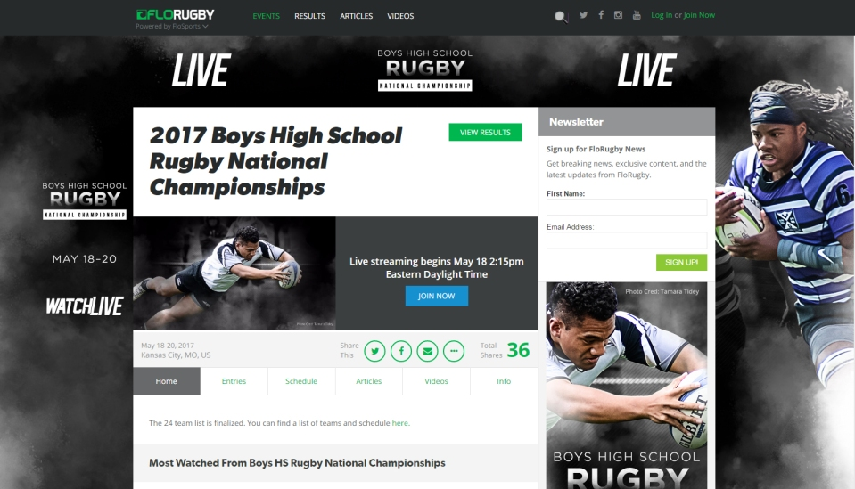rugby national championships live 2017